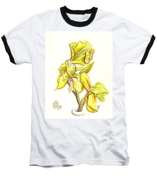 Spanish Irises Baseball T-Shirt