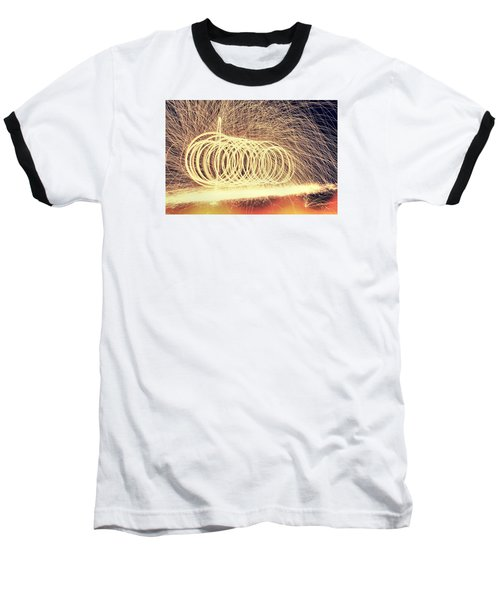 Sparks Baseball T-Shirt by Dan Sproul