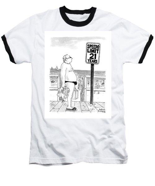 Speedo Limit  21 Years Baseball T-Shirt