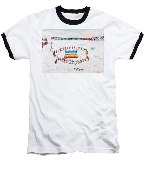 Speranza Di Pace Baseball T-Shirt by Loredana Messina