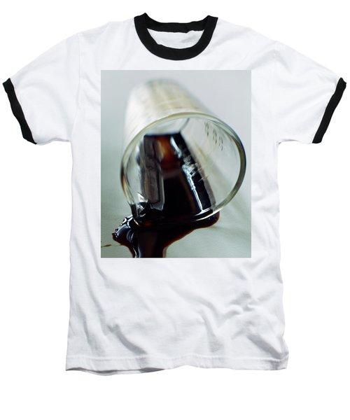 Spilled Balsamic Vinegar Baseball T-Shirt