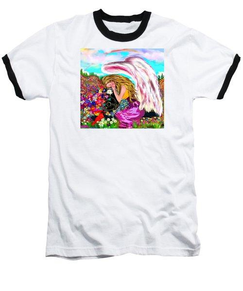 Spiritual Awakening  Baseball T-Shirt by Lori  Lovetere
