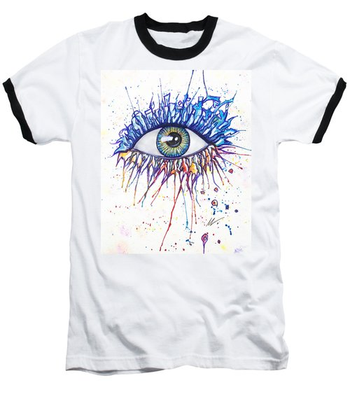 Splash Eye 1 Baseball T-Shirt