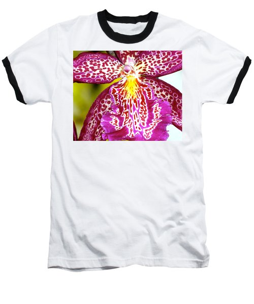 Baseball T-Shirt featuring the photograph Spotted Orchid by Lehua Pekelo-Stearns