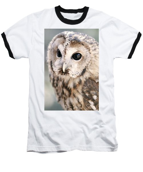 Baseball T-Shirt featuring the photograph Spotted Owl by Shoal Hollingsworth