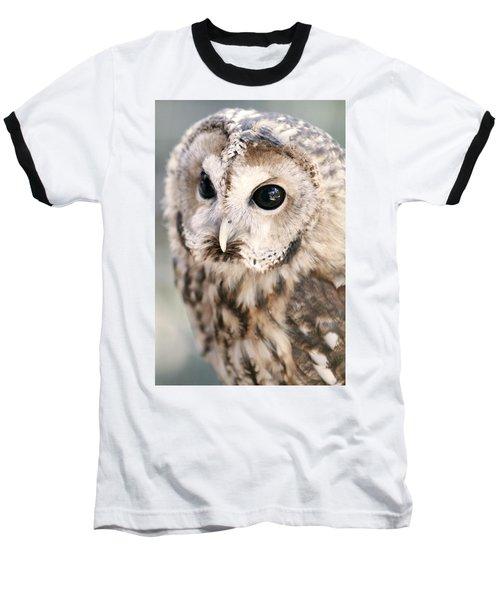 Spotted Owl Baseball T-Shirt