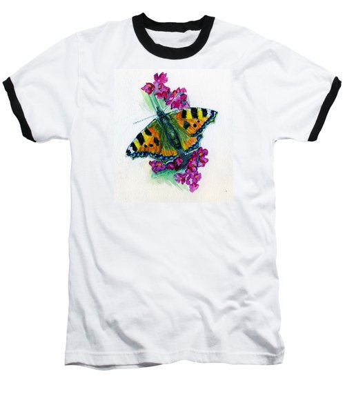 Spreading Wings Of Colour Baseball T-Shirt