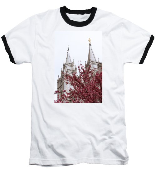 Spring At The Temple Baseball T-Shirt