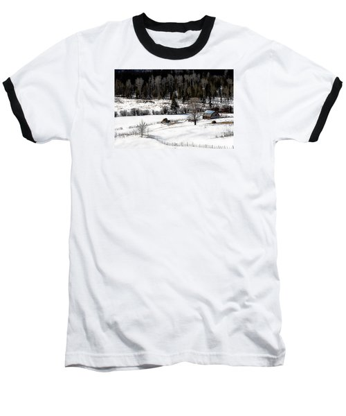 Spring Horizon Baseball T-Shirt by Ed Hall