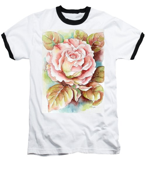 Spring Rose Baseball T-Shirt
