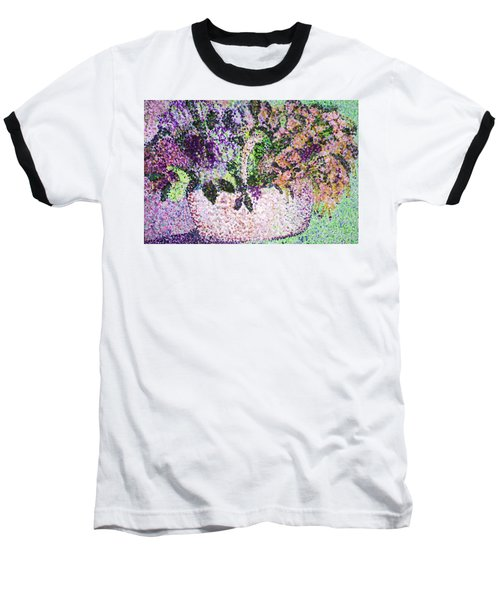 Springtime Basket Baseball T-Shirt