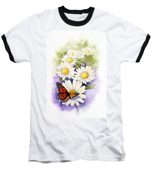 Springtime Daisies  Baseball T-Shirt