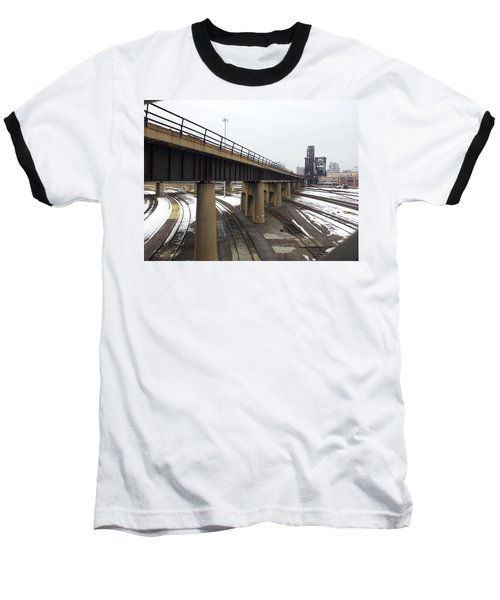 St. Charles Airline Bridge Baseball T-Shirt