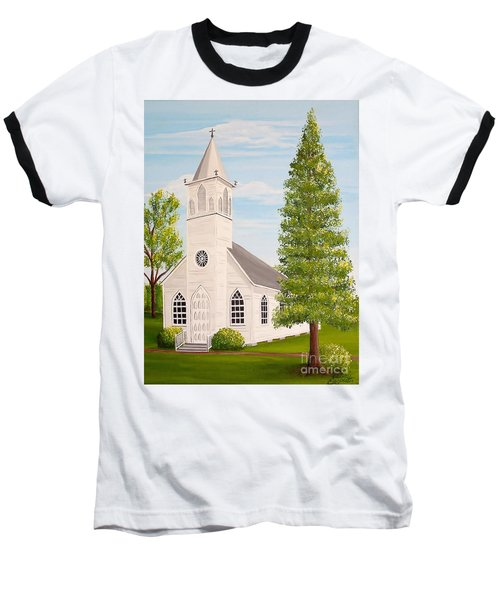 St. Gabriel The Archangel Roman Catholic Church Baseball T-Shirt