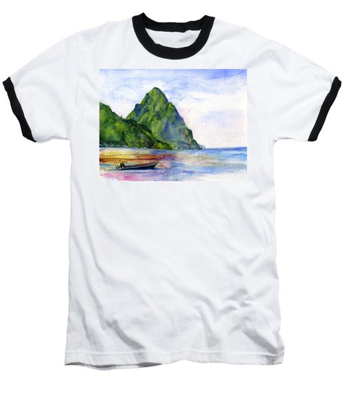 St. Lucia Baseball T-Shirt
