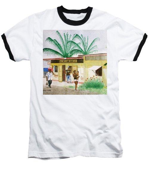 St. Lucia Store Baseball T-Shirt