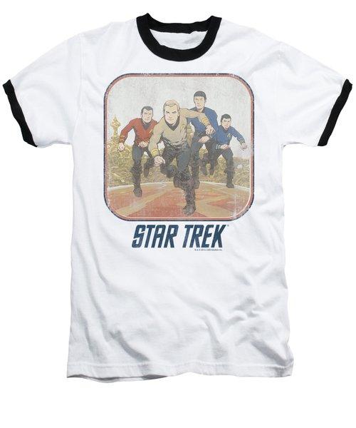 St Original - Running Cartoon Crew Baseball T-Shirt