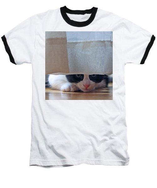 Stalking Me Baseball T-Shirt by Shoal Hollingsworth