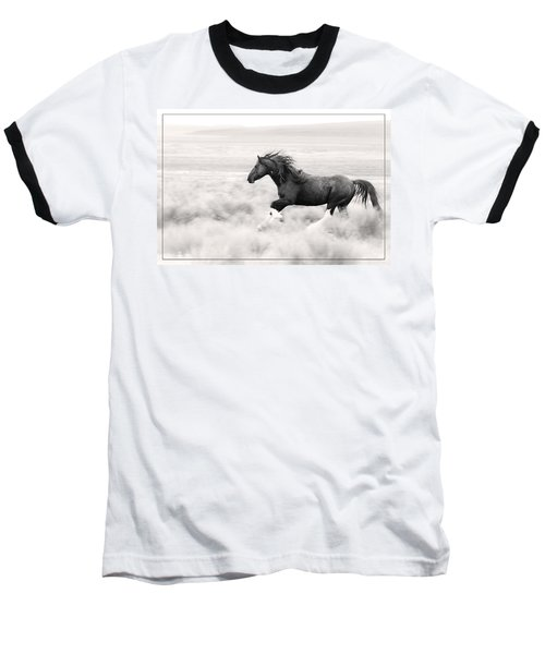 Stallion Blur Baseball T-Shirt