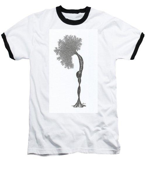 Standing Backward Bend Baseball T-Shirt
