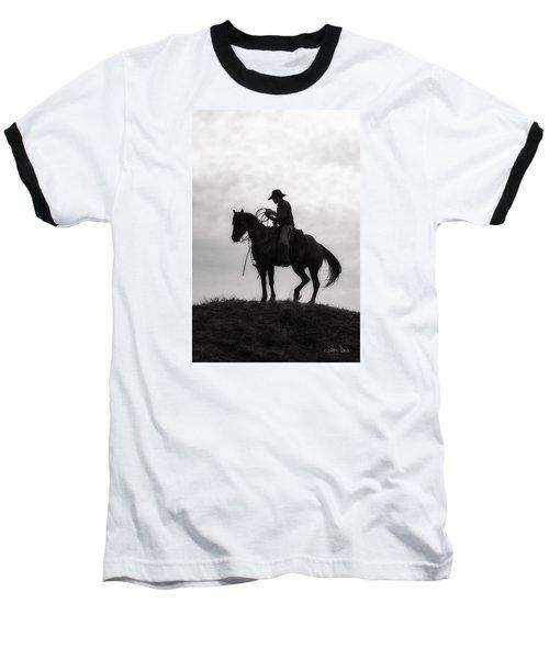 Standing Watch 2013 Baseball T-Shirt by Joan Davis