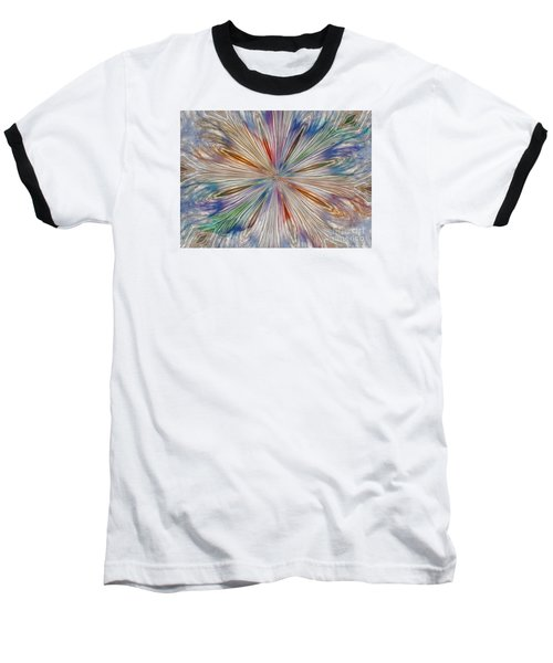 Baseball T-Shirt featuring the photograph Starburst by Geraldine DeBoer