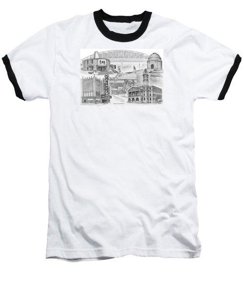Stark County Ohio Print - Canton Lives Baseball T-Shirt