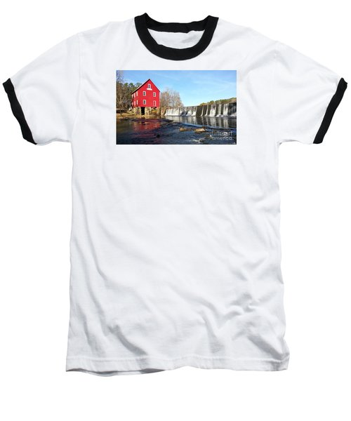 Baseball T-Shirt featuring the photograph Starr's Mill In Senioa Georgia 3 by Donna Brown