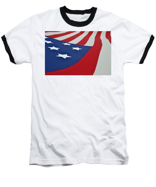 Stars And Stripes Baseball T-Shirt