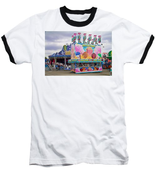 Baseball T-Shirt featuring the photograph State Fair by Steven Bateson