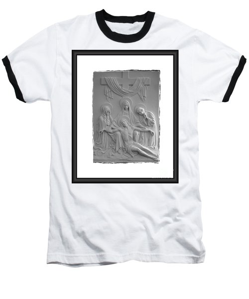 Station X I I I Baseball T-Shirt by Sharon Elliott
