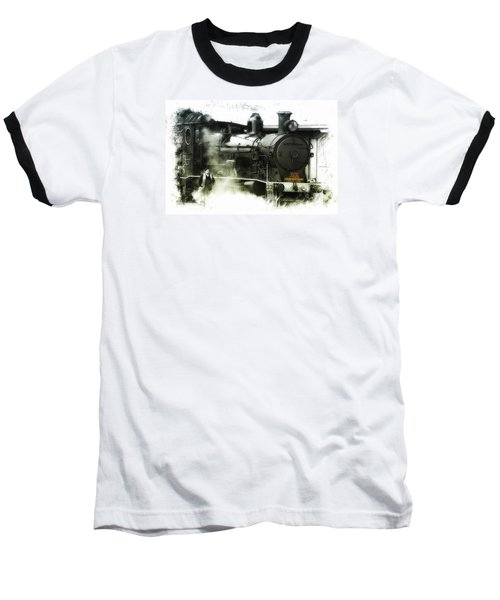 Baseball T-Shirt featuring the photograph Steam 01 by Kevin Chippindall