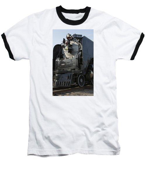 Steam Engine U P 844 Baseball T-Shirt by Jane Eleanor Nicholas