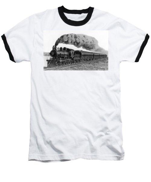 Steam Locomotive No. 999 - C. 1893 Baseball T-Shirt