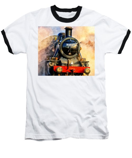 Steam Power Baseball T-Shirt