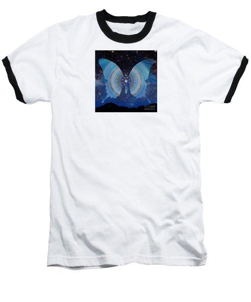 Stellar Butterfly Baseball T-Shirt