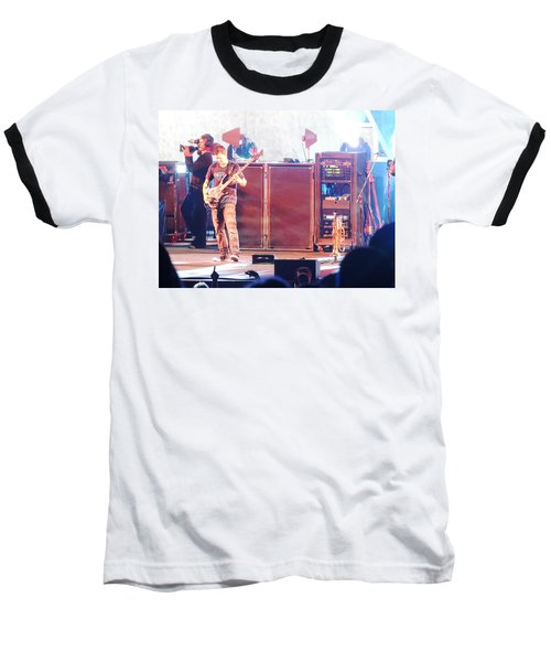 Baseball T-Shirt featuring the photograph Stephan The Bass Player by Aaron Martens