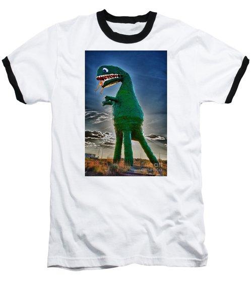 Stewarts Fossils Baseball T-Shirt by Gary Warnimont