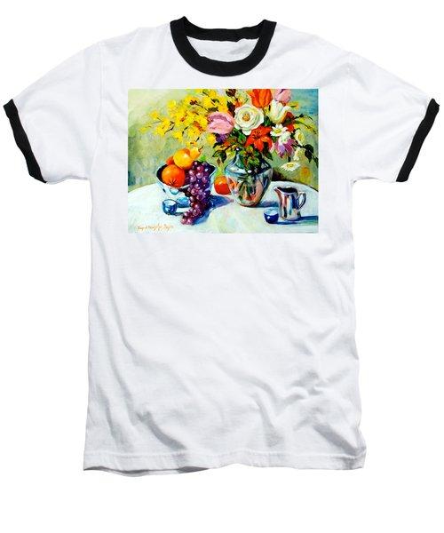 Still Life Creamer Baseball T-Shirt