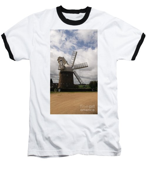 Still Turning In The Wind Baseball T-Shirt by Tracey Williams