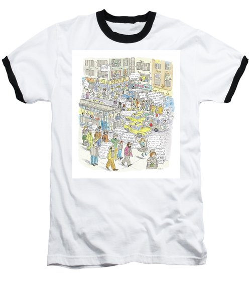 'stockopolis' Baseball T-Shirt