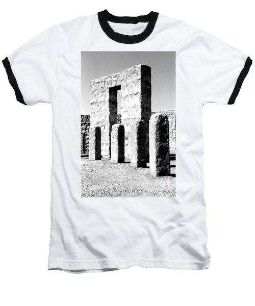 Baseball T-Shirt featuring the photograph Stonehenge Replica by Chalet Roome-Rigdon