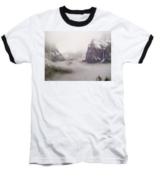 Storm Brewing Baseball T-Shirt by Bill Gallagher