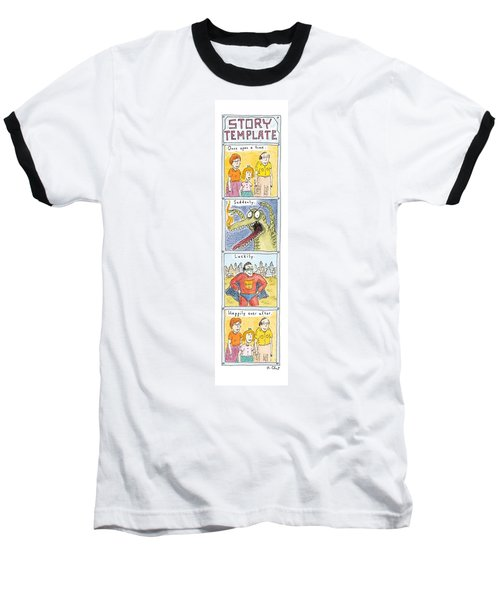 Story Template Baseball T-Shirt