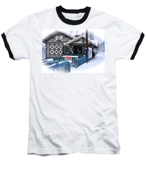 Strafford Station Baseball T-Shirt