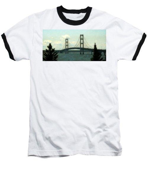Straits Of Mackinac Baseball T-Shirt