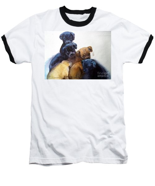 Stray Puppies Baseball T-Shirt