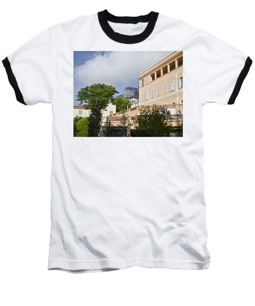 Baseball T-Shirt featuring the photograph Street Of Monaco by Allen Sheffield