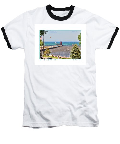 Summer Day At South Haven Mi Baseball T-Shirt