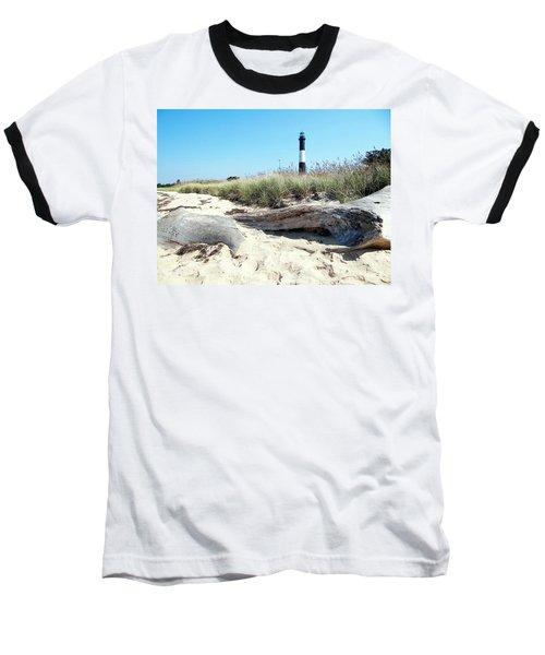 Baseball T-Shirt featuring the photograph Summer Scene by Ed Weidman